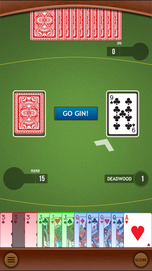Gin Rummy Classic Card Game